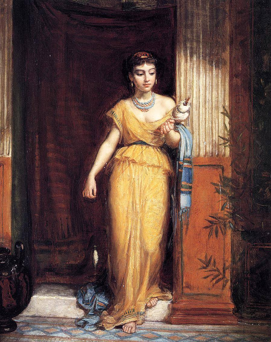 JohnWilliamWaterhouse-LaFileuse1