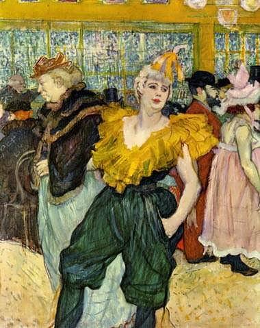 Lautrec-AttheMoulinRougeTheClownessCha-U-Kao