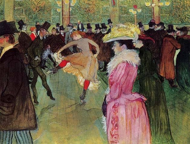 Lautrec-DanceattheMoulinRouge