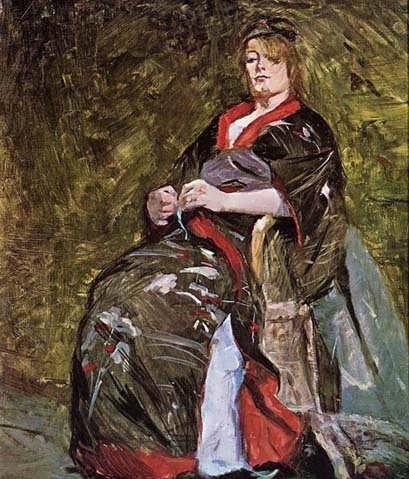 Lautrec-LiliGrenierinaKimono