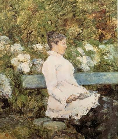 Lautrec-MadamelaComtesseAdeToulouse-Loutrec