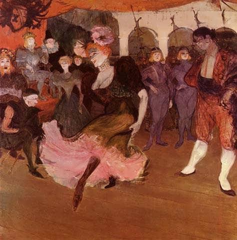 Lautrec-MarcelleLenderDancingintheBoleroinChilperic