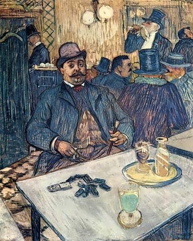 Lautrec-MonsieurBoleauinaCafe