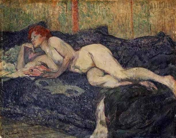 Lautrec-RecliningNude