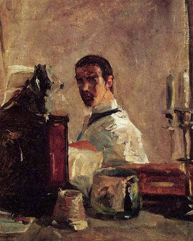 Lautrec-SelfPortraitinfrontofaMirror