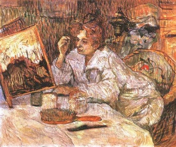 Lautrec-WomanatHerToilette