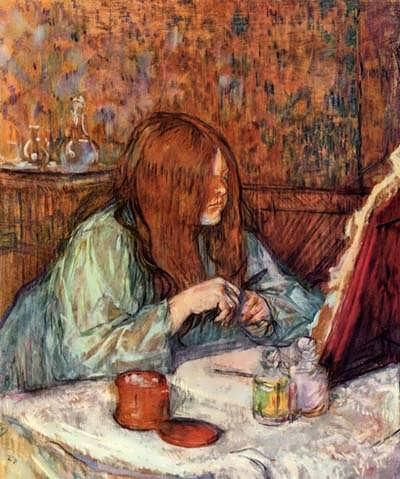 Lautrec-WomanatHerToiletteMadamePoupoule