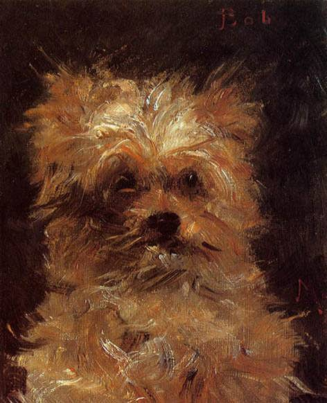 Manet-HeadofaDog2