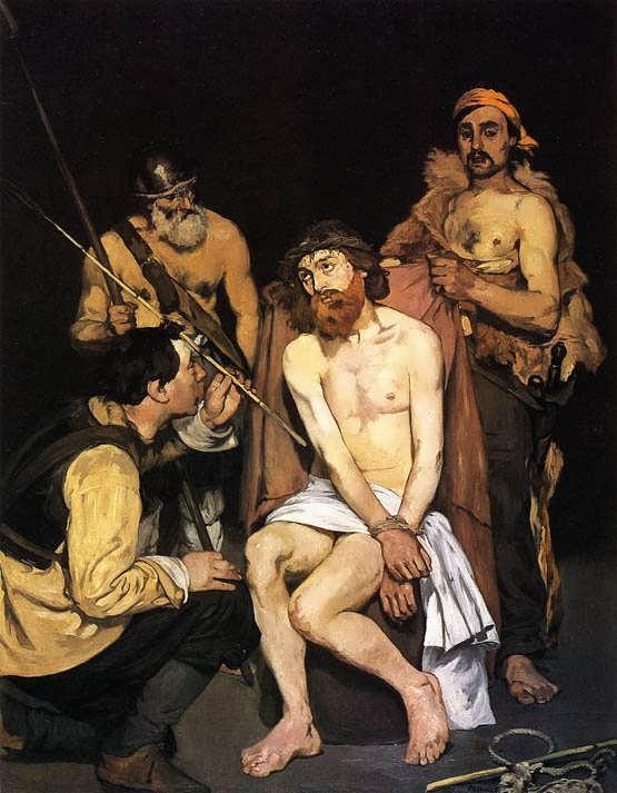 Manet-JesusMockedbytheSoldiers1