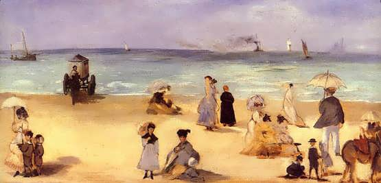Manet-OntheBeachatBoulogne