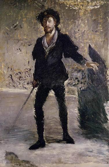 Manet-PortraitofFaureasHamlet