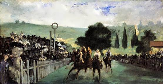 Manet-RacesatLongchamp