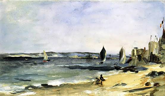 Manet-SeascapeatArcachon