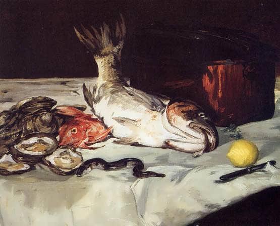 Manet-StillLifewithFish