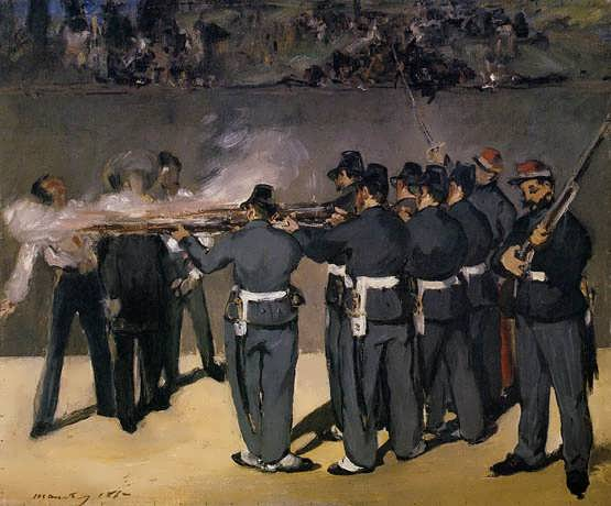 Manet-TheExecutionoftheEmperorMaximillian
