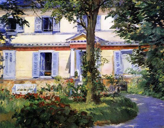 Manet-TheHouseatRueil