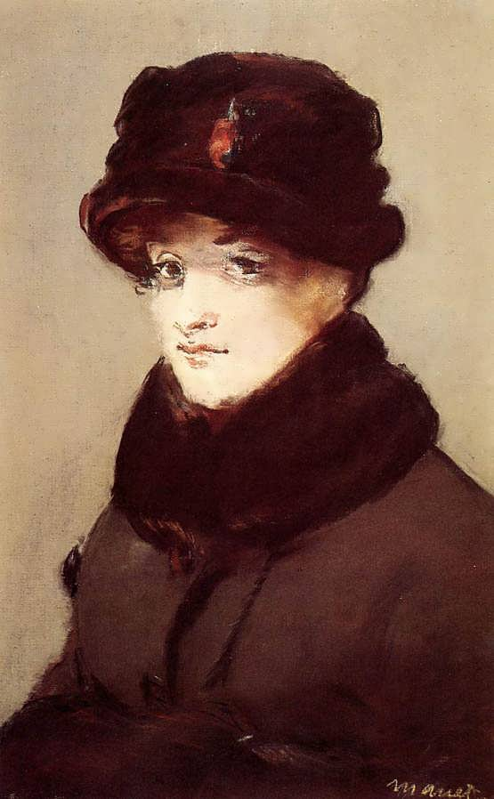 Manet-WomaninFursPortraitofMeryLaurent
