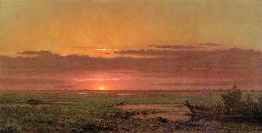 MartinJohnsonHeade-SunsetMarshlandNewJersey