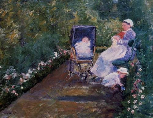 MaryCassatt-ChildreninaGarden