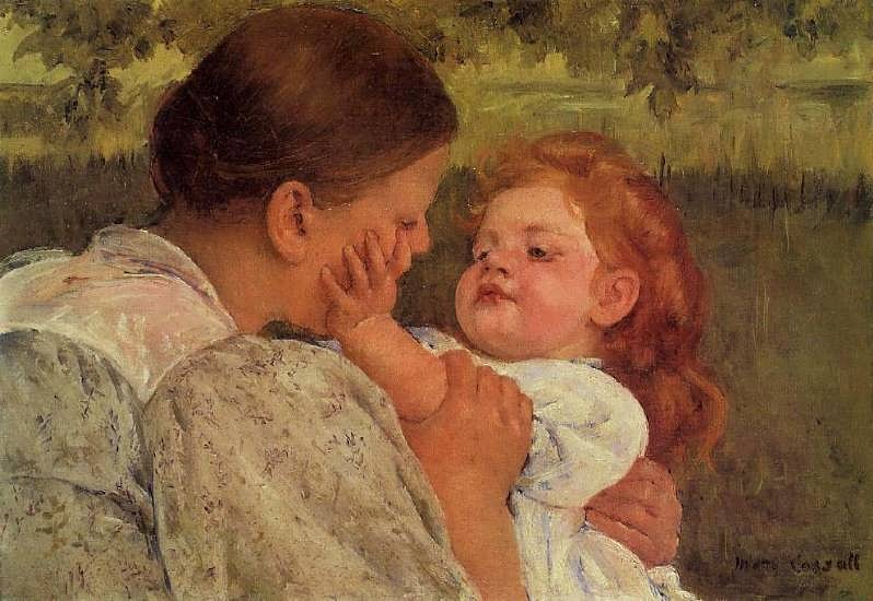 MaryCassatt-MaternalCaress