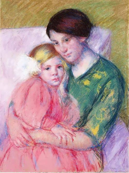 MaryCassatt-MotherandChildReading1