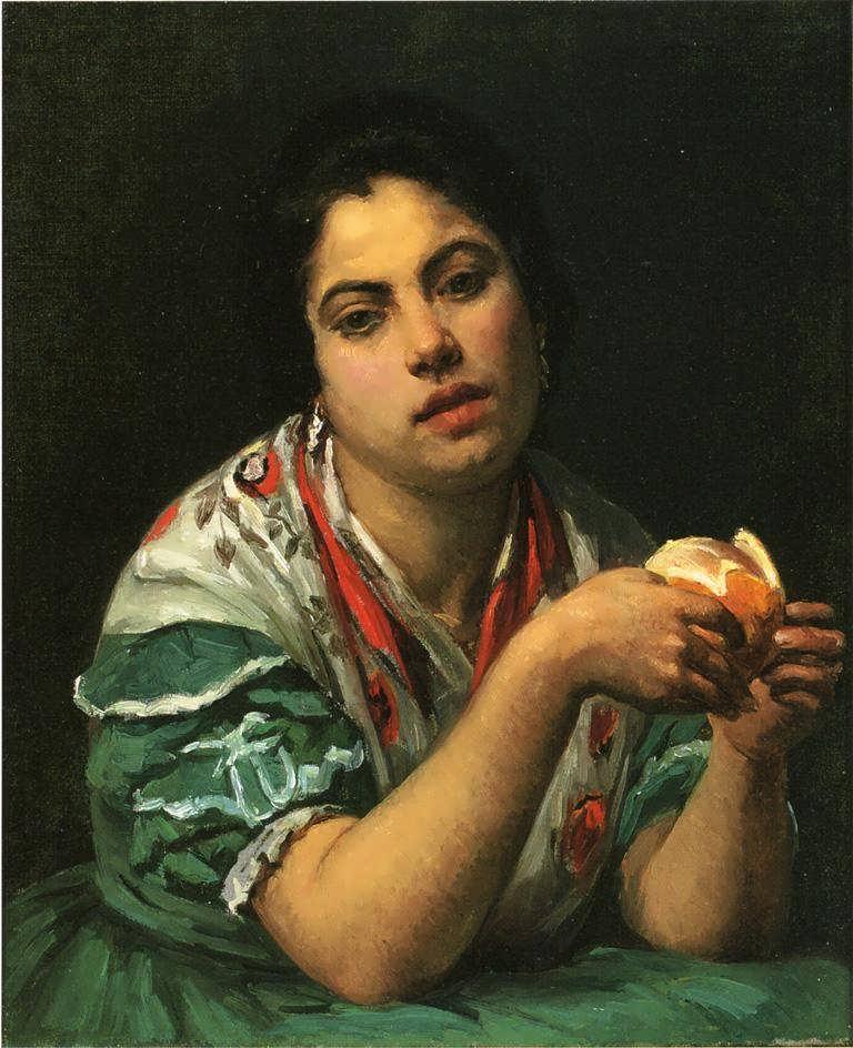 MaryCassatt-PeasantWomanPeelinganOrange