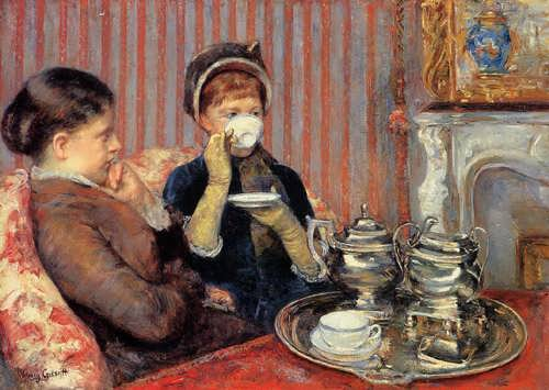 MaryCassatt-Tea