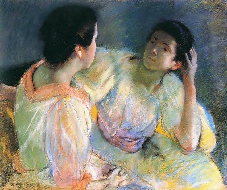 MaryCassatt-TheConversation