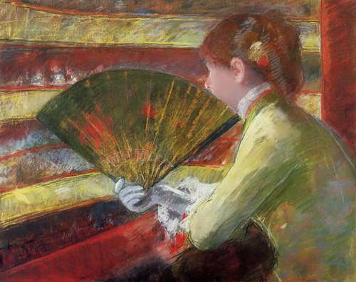 MaryCassatt-Theater