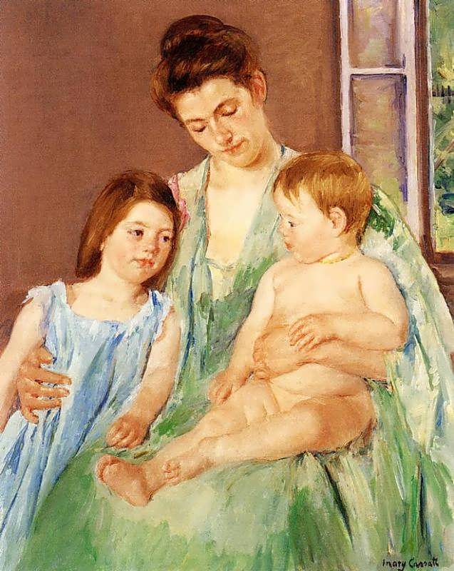 MaryCassatt-YoungMotherandTwoChildren