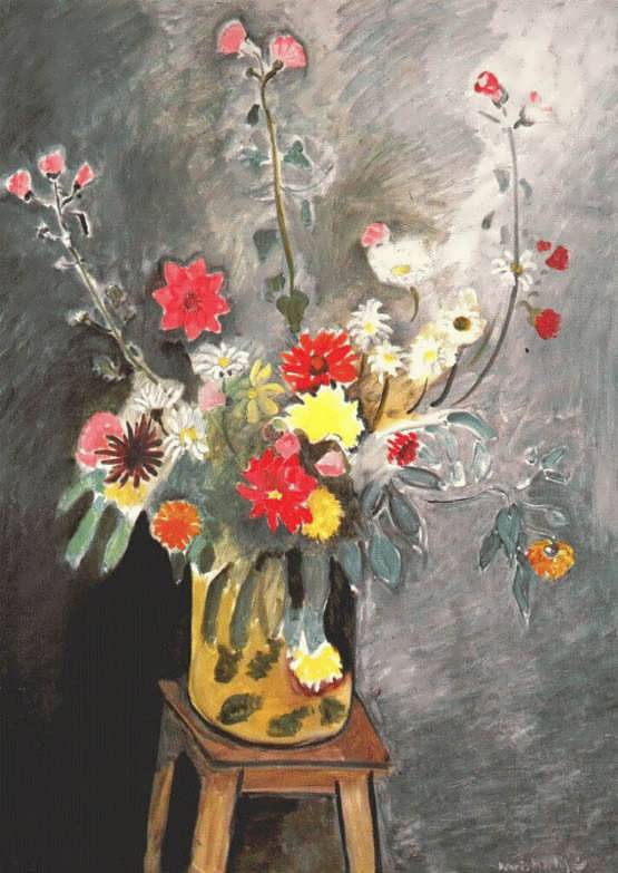 Matisse-Bouquetofmixedflowers
