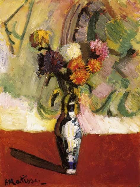 Matisse-ChrysanthemumsinaChineseVase
