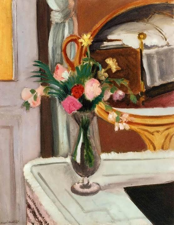 Matisse-TheBedintheMirror