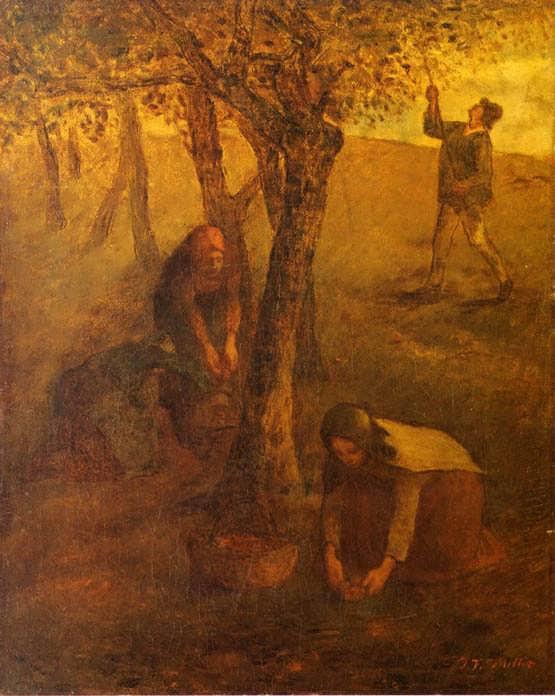 Millet-GatheringApples