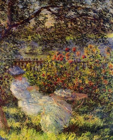 Monet-AliceHoschedeintheGarden