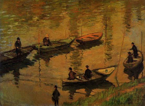 Monet-AnglersontheSeineatPoissy