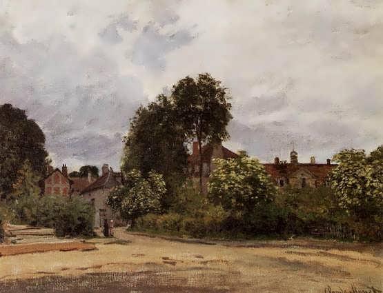 Monet-ArgenteuiltheHospice
