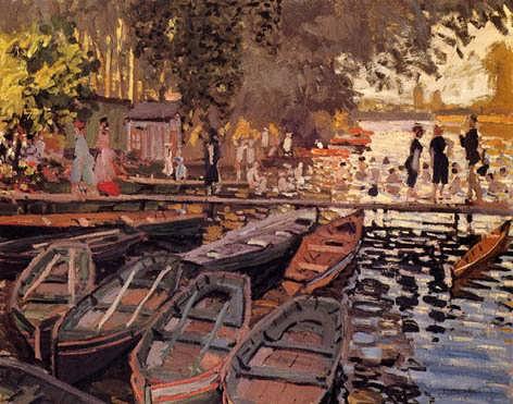 Monet-BathersatLaGrenouillere