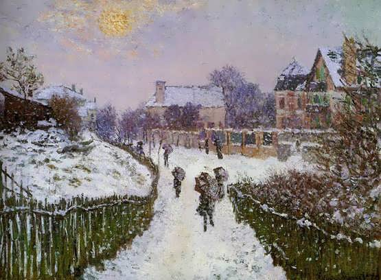 Monet-BoulevardSt_DenisArgenteuilSnowEffect
