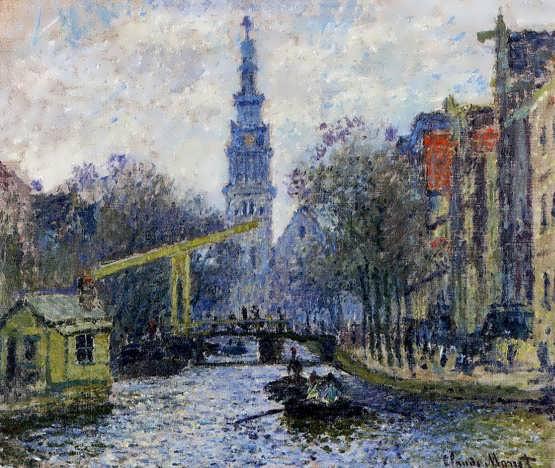 Monet-CanalinAmsterdam