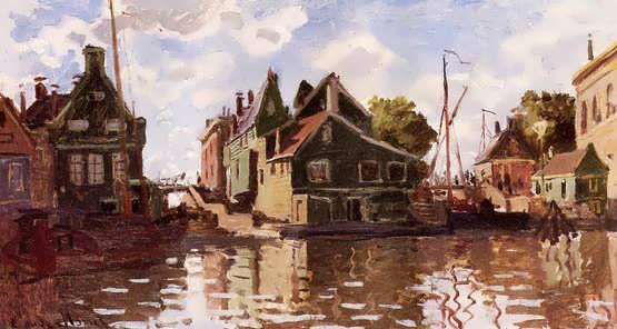 Monet-CanalinZaandam