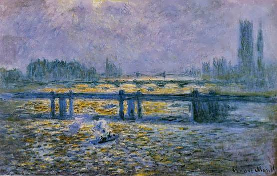 Monet-CharingCrossBridgeReflectionsontheThames