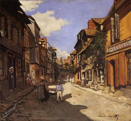 Monet-LeRuedeLaBavolleatHonfleur