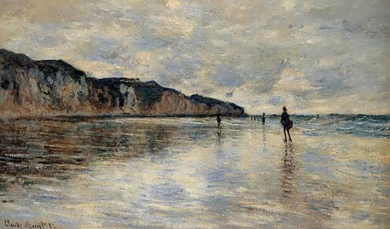 Monet-LowTideatPourville