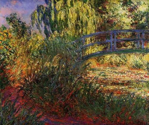 Monet-PathalongtheWater-LilyPond