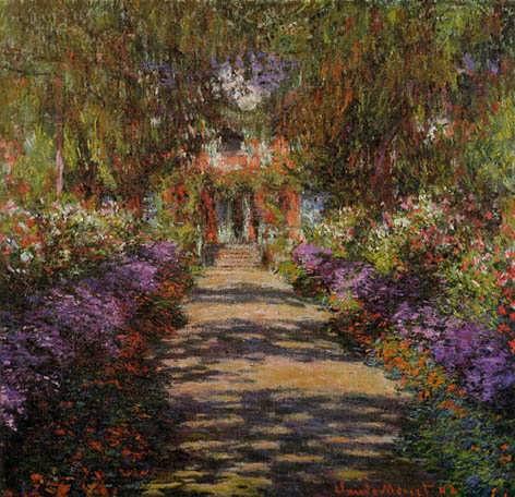 Monet-PathwayinMonetsGardenatGiverny