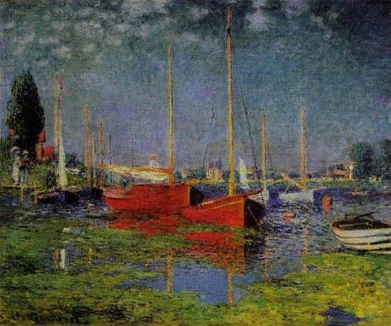 Monet-PleasureBoatsatArgenteuil