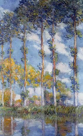 Monet-Poplars