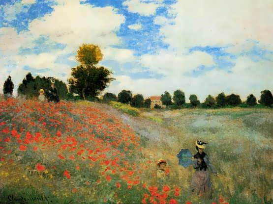 Monet-PoppiesatArgenteuil