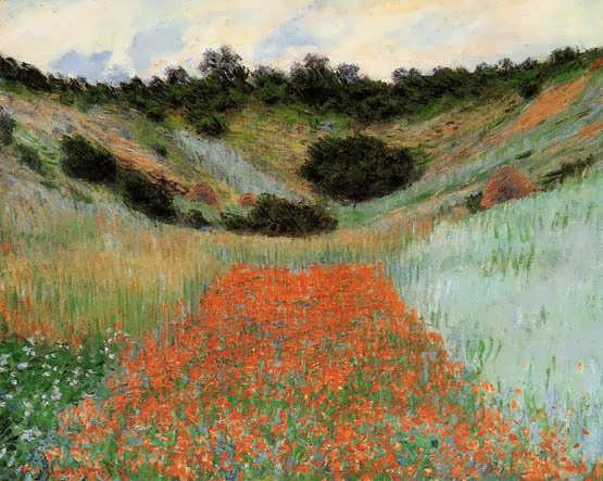 Monet-PoppyFieldinaHollownearGiverny